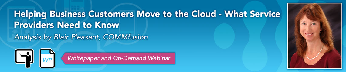 Helping Business Customers Move to the Cloud - What Service Providers Need to Know
