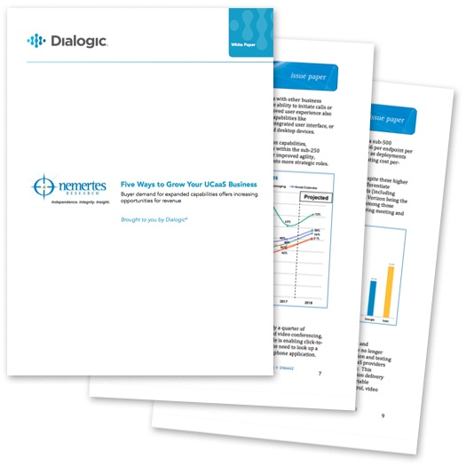 Whitepaper: Five Ways to Grow Your UCaaS Business